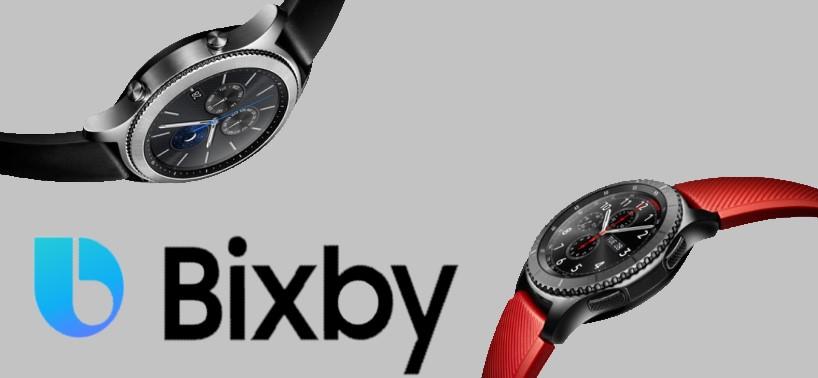 samsung akıllı saatlere bixby